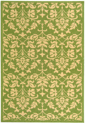 Safavieh Courtyard Cy3416-1e06 Olive / Natural Area Rug