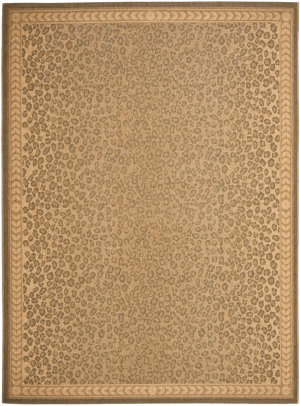 Safavieh Courtyard Cy6100-39 Natural / Gold Area Rug