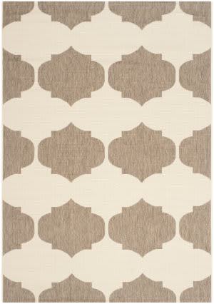 Safavieh Courtyard Cy6162-232 Beige / Brown Area Rug