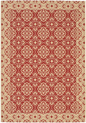 Safavieh Courtyard Cy6550-28 Red / Creme Area Rug