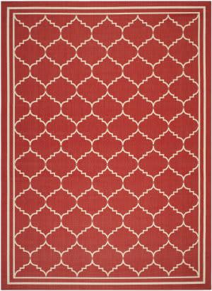 Safavieh Courtyard CY6889-248 Red / Beige Area Rug