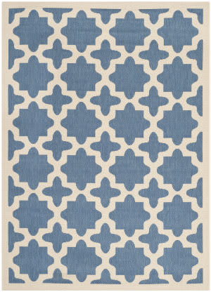 Rugstudio Sample Sale 100493R Blue / Beige Area Rug