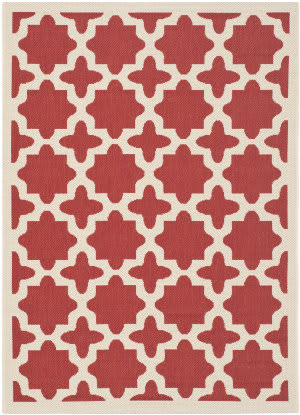 Safavieh Courtyard CY6913-248 Red / Bone Area Rug