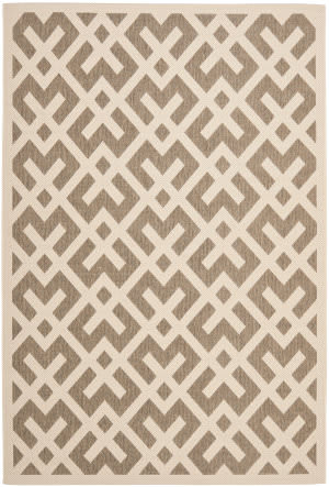 Safavieh Courtyard Cy6915-232 Brown / Bone Area Rug