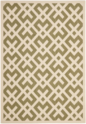 Safavieh Courtyard Cy6915-234 Green / Bone Area Rug