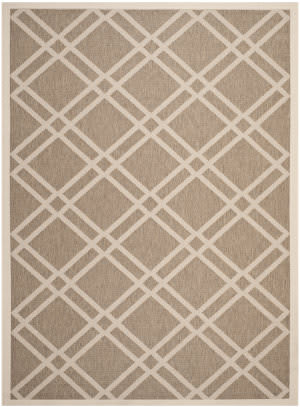 Safavieh Courtyard Cy6923-242 Brown / Bone Area Rug