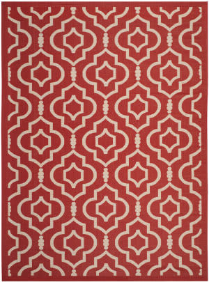 Safavieh Courtyard CY6926-248 Red / Bone Area Rug