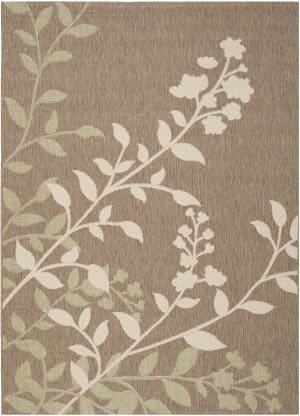 Safavieh Courtyard Cy7019-242 Brown / Beige Area Rug