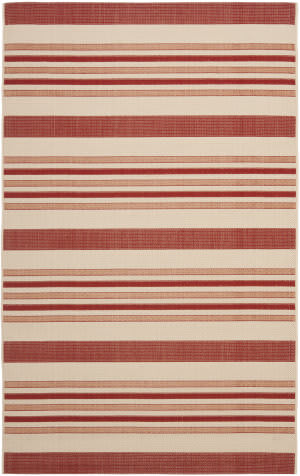 Safavieh Courtyard Cy7062 Beige - Red Area Rug