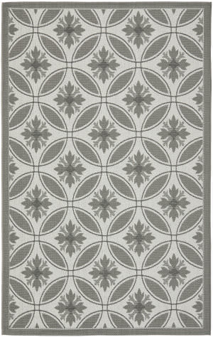 Safavieh Courtyard Cy7844-78a5 Light Grey / Anthracite Area Rug