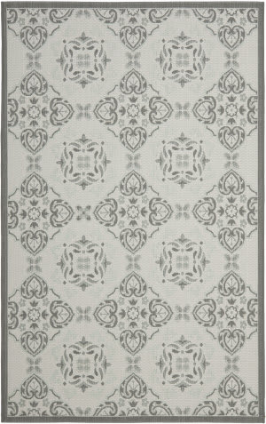 Safavieh Courtyard Cy7978-78a18 Light Grey / Anthracite Area Rug