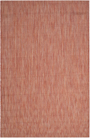 Safavieh Courtyard Cy8022 Red - Beige Area Rug