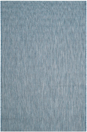 Safavieh Courtyard Cy8022 Navy - Grey Area Rug