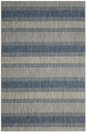 Safavieh Courtyard Cy8464 Grey - Navy Area Rug
