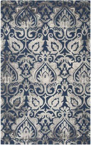Safavieh Dip Dye Ddy511n Navy - Grey Area Rug