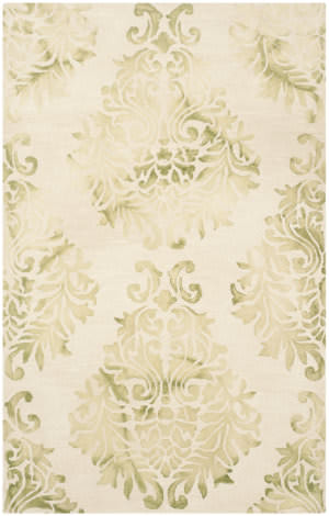 Safavieh Dip Dyed Ddy516b Beige - Green Area Rug