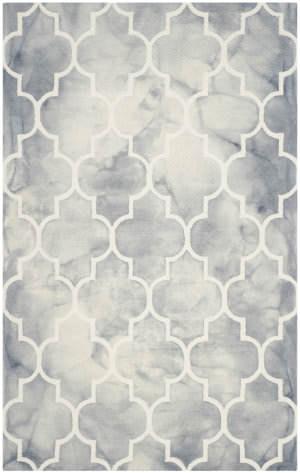 Safavieh Dip Dye Ddy535c Grey - Ivory Area Rug
