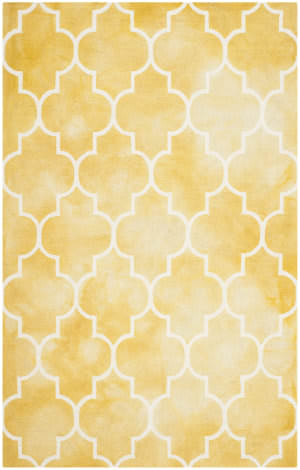 Safavieh Dip Dye Ddy535h Gold - Ivory Area Rug