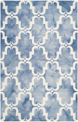 Safavieh Dip Dye Ddy536k Blue - Ivory Area Rug