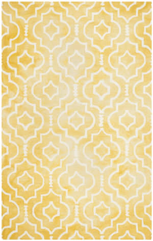 Safavieh Dip Dye Ddy538h Gold - Ivory Area Rug