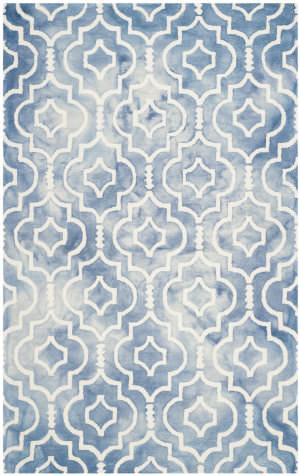 Safavieh Dip Dye Ddy538k Blue - Ivory Area Rug