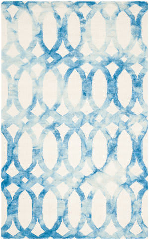 Safavieh Dip Dye Ddy675a Ivory - Blue Area Rug