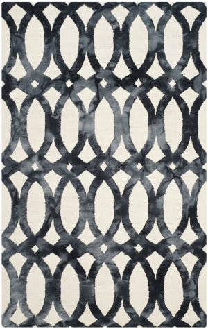 Safavieh Dip Dyed Ddy675d Ivory - Graphite Area Rug