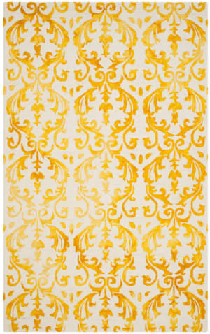 Safavieh Dip Dye Ddy689a Ivory - Gold Area Rug
