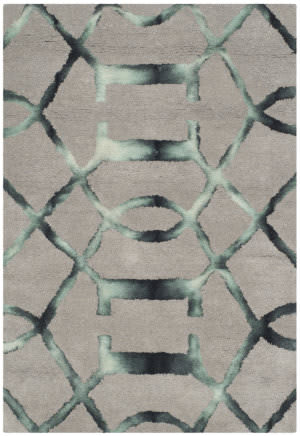 Safavieh Dip Dye Ddy712b Grey - Charcoal Area Rug