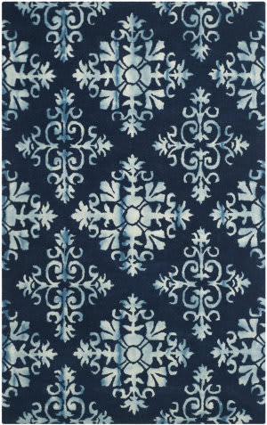 Safavieh Dip Dyed Ddy720n Navy - Blue Area Rug