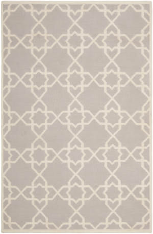 Safavieh Dhurries DHU548G Grey / Ivory Area Rug