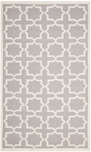 Safavieh Dhurries DHU549G Grey / Ivory Area Rug