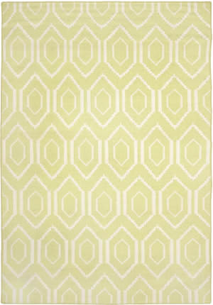 Safavieh Dhurries DHU556A Green / Ivory Area Rug