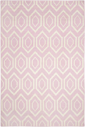 Safavieh Dhurries DHU556C Pink / Ivory Area Rug