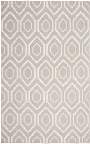 Safavieh Dhurries DHU556G Grey / Ivory Area Rug