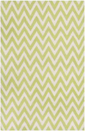 Safavieh Dhurries DHU557A Green / Ivory Area Rug