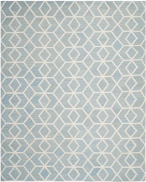Safavieh Dhurries DHU560A Blue / Ivory Area Rug