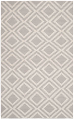 Safavieh Dhurries Dhu571a Grey / Ivory Area Rug