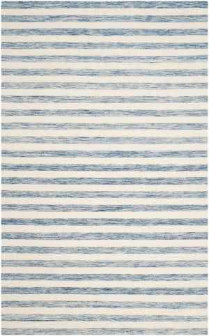 Safavieh Dhurries Dhu575b Blue - Ivory Area Rug