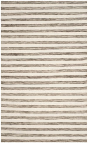 Safavieh Dhurries Dhu575e Brown - Ivory Area Rug