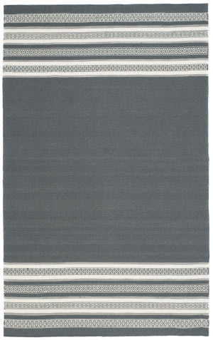 Safavieh Dhurries Dhu601d Dark Grey Area Rug