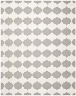 Safavieh Dhurries Dhu624b Grey / Ivory Area Rug