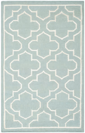 Safavieh Dhurries Dhu625a Blue / Ivory Area Rug