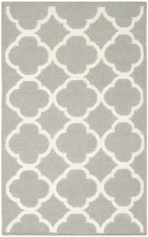 Safavieh Dhurries Dhu627b Grey / Ivory Area Rug
