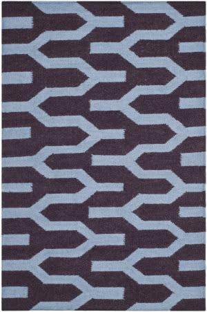 Safavieh Dhurries Dhu630b Purple / Blue Area Rug