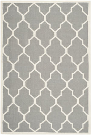 Safavieh Dhurries DHU632B Grey / Ivory Area Rug