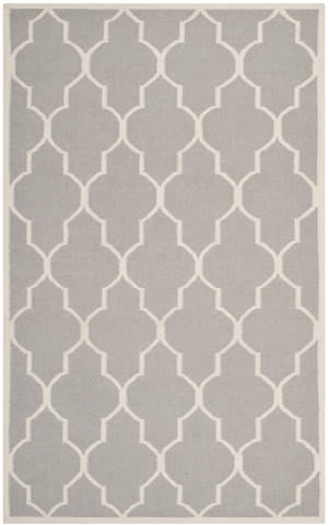 Safavieh Dhurries DHU632G Dark Grey / Ivory Area Rug