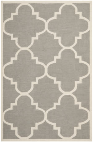 Safavieh Dhurries DHU633B Grey / Ivory Area Rug