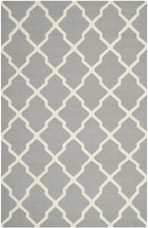Safavieh Dhurries DHU634B Grey / Ivory Area Rug