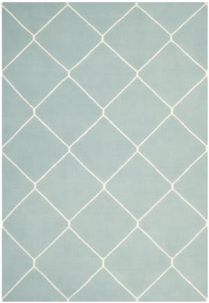 Safavieh Dhurries DHU635C Light Blue / Ivory Area Rug